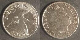 Bermuda - 25 Cents 2004 Used (bm002) - Bermudas