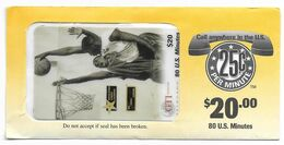 GTI  U.S.A., Gold Star Cashing, $20 Prepaid Phone Card, SAMPLE, # Gtigoldstar-1 - Sport