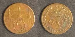 Czechoslovakia - 5 Hellers 1923 Used (cs003) - Cecoslovacchia