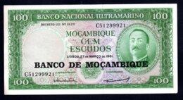 Banconota Mozambico - 100 Scudi - FDS - Mozambique