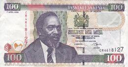 BILLETE DE KENIA DE 100 SHILINGI DEL AÑO 2006 (BANK NOTE) - Kenia