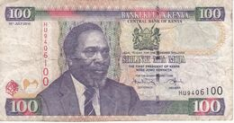 BILLETE DE KENIA DE 100 SHILINGI DEL AÑO 2010 (BANK NOTE) - Kenia