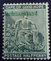 Bechuanaland 1889 Cap De Bonne Espérance Surchargé Cape Of Good Hope Overprinted Bechuanaland Protectorate Yvert 13 * MH - Bechuanaland (...-1966)