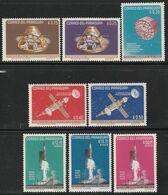 PARAGUAY - N°759/3+PA 385/7 ** (1964) Satellites Saturne - ESPACE - - Sud America