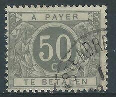 YY-/-517.- Tx N° 16,- Obl. , Cote 80.00 € ,CONTOUR Du LION EPAIS - REF. COB 2003 - IMAGE DU VERSO SUR DEMANDE - Stamps