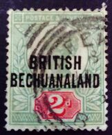 Bechuanaland 1892 Victoria Grande Bretagne Surchargé Great Britain Overprinted British Bechuanaland Yvert 32 O Used - 1885-1895 Kronenkolonie