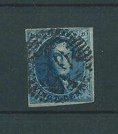 N° 4 OBLITERE P 20 BOUILLON - 1849-1850 Medaillons (3/5)