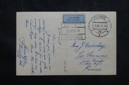 TCHÉCOSLOVAQUIE - Carte Postale De Pardubice Pour La France En 1935 Par Avion - L 70547 - Cartas
