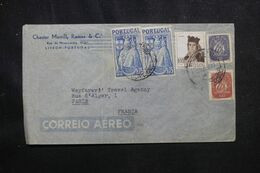 PORTUGAL - Enveloppe Commerciale De Lisbonne Pour La France En 1947 - L 70552 - Covers & Documents