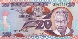 Tanzania 20 Shilingi, P-12 (1986) - UNC - Tanzania