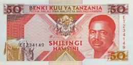 Tanzania 50 Shilingi, P-23 (1993) - UNC - Tanzania