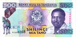 Tanzania 500 Shilingi, P-26b (1993) - UNC - Tanzania