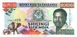 Tanzania 1.000 Shilingi, P-27b (1993) - UNC - Tanzania