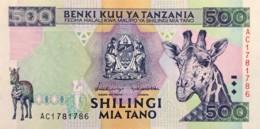 Tanzania 500 Shilingi, P-30 (1997) - UNC - Tanzania