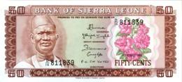 Sierra Leone 50 Cents, P-4e (4.8.1984) - UNC - Sierra Leone