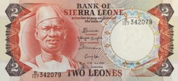 Sierra Leone 2 Leones, P-6h (4.8.1985) - UNC - Sierra Leone