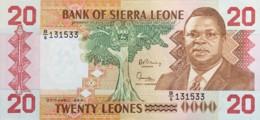 Sierra Leone 20 Leones, P-16 (27.4.1988) - UNC - Sierra Leone