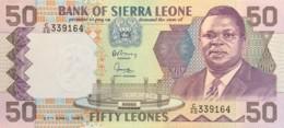 Sierra Leone 50 Leones, P-17b (27.4.1989) - UNC - Sierra Leone