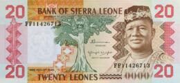 Sierra Leone 20 Leones, P-14b (24.8.1984) - UNC - Sierra Leone