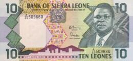 Sierra Leone 10 Leones, P-15 (27.4.1988) - UNC - Sierra Leone
