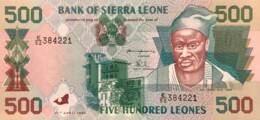 Sierra Leone 500 Leones, P-23a (27.4.1995) - UNC - Sierra Leone