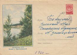 Lithuania Cover From Uzuoganai To Batumi 1960 #25016 - Lituania