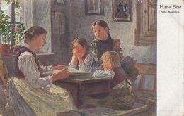 TH2486  --   HANS REST  --  ALTE MARCHEN --  1925 - Paintings
