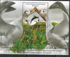 TAAF ,  FRENCH ANTARCTIC, 2020, MNH, BIRDS, ALBATROSS, S/SHEET - Birds
