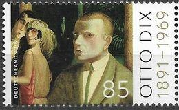 2016  Allem. Fed.  Deutschland Mi. 3267**MNH  125. Geburtstag Von Otto Dix - Nuovi