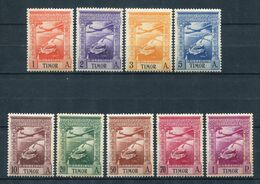 Timor 1938. Yvert A 1-9 (ref 2) See Two Images ** MNH. - Timor