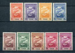Timor 1938. Yvert A 1-9 (ref 3) See Two Images ** MNH. - Timor
