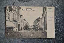 """3280/ Souvenir De Tirlemont-La Rue De Louvain Ser 4 No 45-Pub """"Goutez Le Petit-Beurre PAREIN"""" - Tienen"""