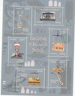 2017 France Postal Scales Balances Souvenir Sheet  MNH @ BELOW FACE VALUE - Frankrijk