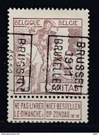 1734 Voorafstempeling Op Nr 85 - BRUSSEL 1911 BRUXELLES -  Positie B - Precancels
