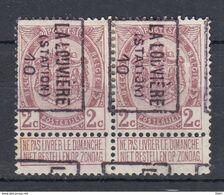 1532 Voorafstempeling Op Nr 82 - LA LOUVIERE STATION 10 -  Positie B - Precancels