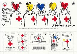 2016 France Red Cross  Souvenir Sheet  MNH @ BELOW FACE VALUE - Nuovi