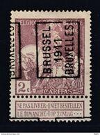 1736 Voorafstempeling Op Nr 89 - BRUSSEL 1911 BRUXELLES -  Positie A - Precancels