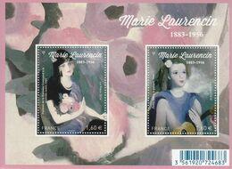 2016 France Laurencin Art Painting  Souvenir Sheet  MNH @ BELOW FACE VALUE - Frankrijk