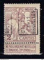 1734 Voorafstempeling Op Nr 85 - BRUSSEL 1911 BRUXELLES -  Positie A (zie Opm) - Precancels