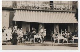 CARTE PHOTO LE TREPORT : BEAUVAISY HOTEL - DINERS & DEJEUNERS - ROUTE DE SAINT VALERY - ECRITE DU TREPORT -z 2 SCANS Z- - Le Treport