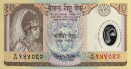 Nepal 10 Rupees, P-45 (2002) - UNC - Nepal