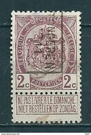 1727 Voorafstempeling Op Nr 82 - TONGEREN 1911 TONGRES - Positie B - Precancels