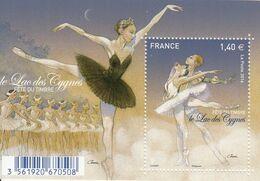 2016 France Ballet Swan Lake  Souvenir Sheet  MNH @ BELOW FACE VALUE - Frankrijk