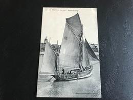2601 - LA ROCHELLE Barque De Peche - 1912 Timbrée - La Rochelle
