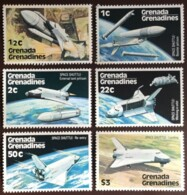 Grenada Grenadines, 1978, Space Shuttle, MNH, Michel 253-258 - Grenada (1974-...)