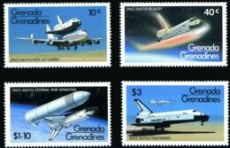 Grenada Grenadines, 1981, Space Shuttle, MNH, Michel 470-473 - Grenada (1974-...)