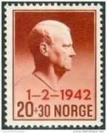 NOORWEGEN 1942 Quisling  Opdruk 1-2-1942 PF-MNH-NEUF - Ungebraucht