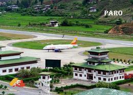 Bhutan Paro International Airport New Postcard Flughafen AK - Bhutan