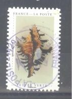 France Autoadhésif Oblitéré (Un Cabinet De Curiosités : Gastéropode) (cachet Rond) - France