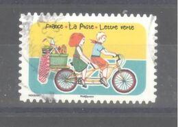 France Autoadhésif Oblitéré (Espace Soleil Liberté N°12) (cachet Rond) - Usati
